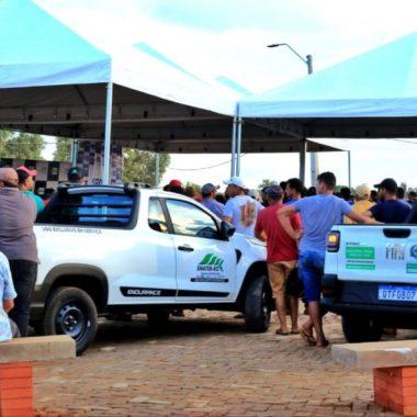 Governo do Estado entrega veículos para reforçar assistência técnica e extensão rural de distritos de Porto Velho