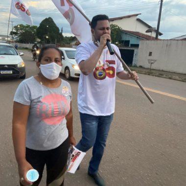 JUNTO DA POPULAÇÃO: Samuel Costa realiza grande caminhada nos bairros Guajará e 4 de Janeiro