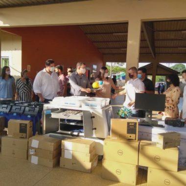 Governo investe mais de R$ 68 mil em equipamentos para escola estadual de União Bandeirantes