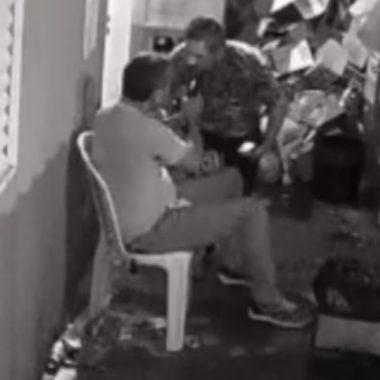 Policial Militar se irrita com valor da conta e mata dono de distribuidora; cenas fortes