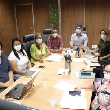 Fernando Máximo se reúne com secretários municipais de saúde para tratar da Covid-19