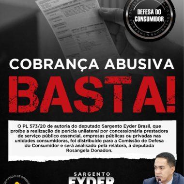 COBRANÇA ABUSIVA: Projeto do deputado Eyder Brasil é apreciado na Comissão de Defesa do Consumidor