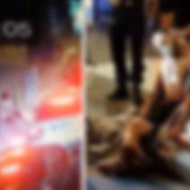 VÍDEO – Ladrão pula de prédio, cai sentado em tubo de aço e morre na hora; cenas fortíssimas
