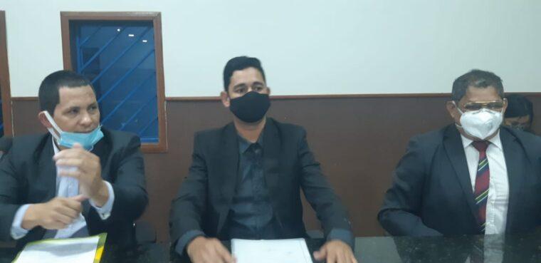 Prefeita Raissa atende vereador Romerito Pereira e informa retorno do repasse do pagamento do FGTS dos servidores celetistas de Guajará-Mirim