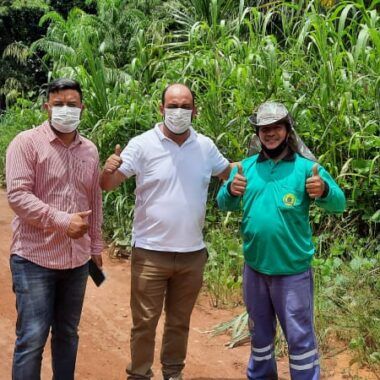 Comunidade de São Sebastião recebe visita dos vereadores Wanoel Martins e Carlos Damaceno