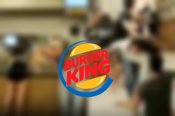 Revoltante: 'surtadas' quebram toda a Burger King e agridem funcionárias