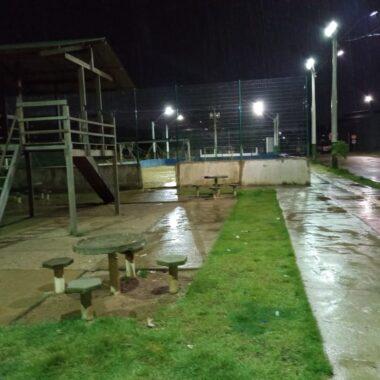 Após solicitação do vereador Marcio Pacele, Eco Park do Bairro Mocambo recebe reparo de iluminação pública