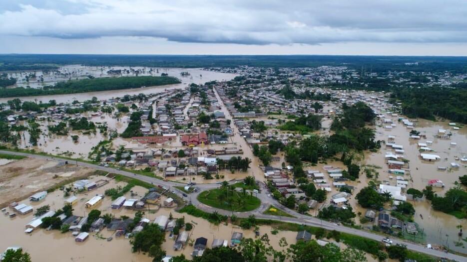 Acre tem 110 mil pessoas atingidas pelas cheias e 26,4 mil famílias desabrigadas