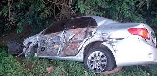 TRISTE - Colisão entre carros da mesma família tira a vida de uma criança